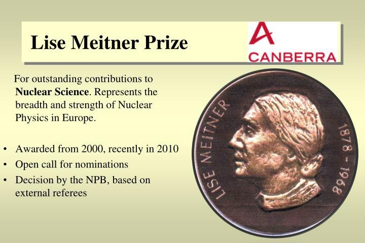 Lise Meitner Prize