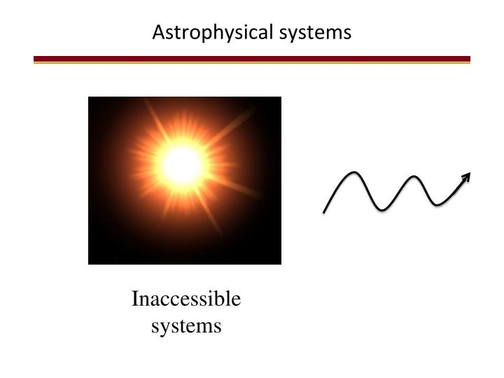 Astrophysical systems