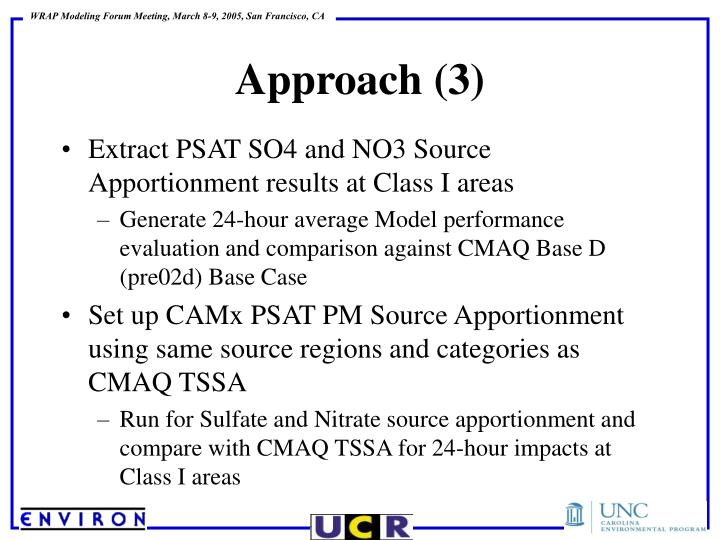 Extract PSAT SO4 and NO3 Source Apportionment results at Class I areas