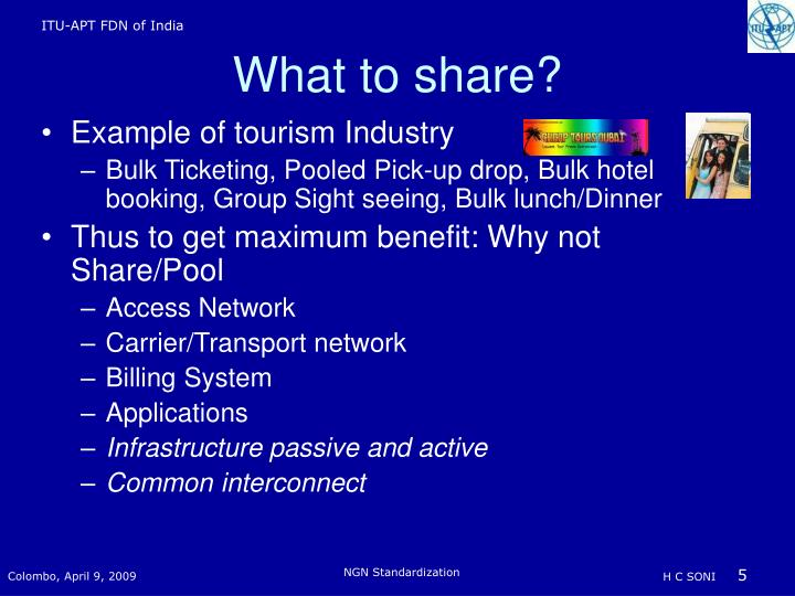 Example of tourism Industry