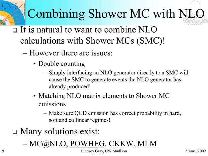 Combining Shower MC with NLO
