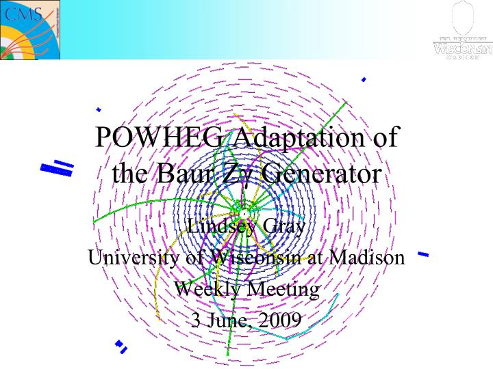 Powheg adaptation of the baur z generator