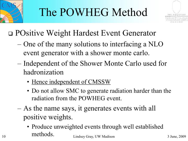 The POWHEG Method