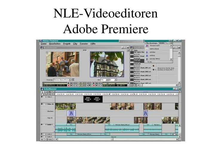 NLE-Videoeditoren