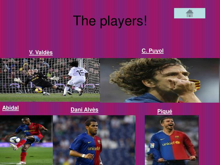 The players!
