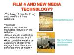 film 4 and new media technology