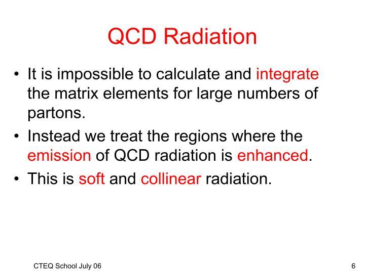 QCD Radiation