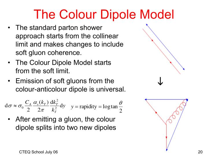 The Colour Dipole Model