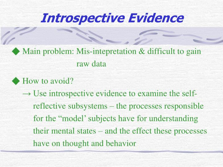 ◆ Main problem: Mis-intepretation & difficult to gain
