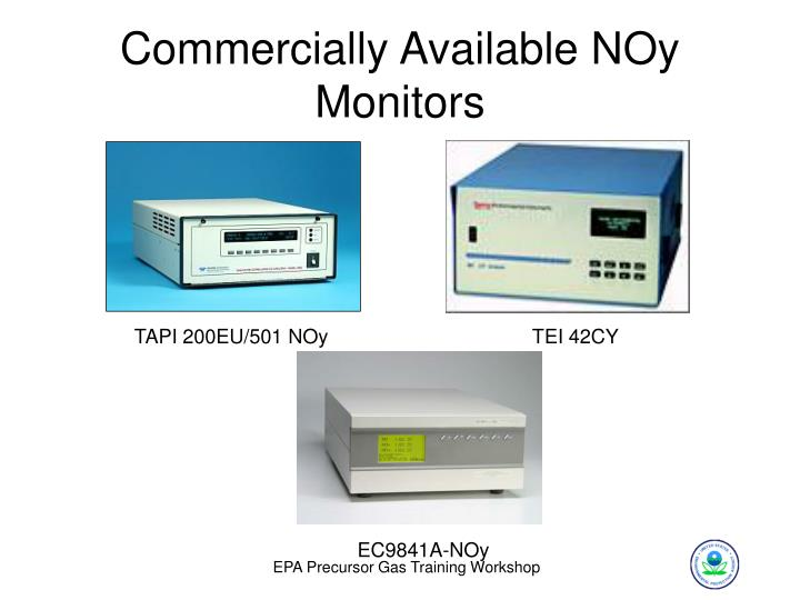 Commercially Available NOy Monitors