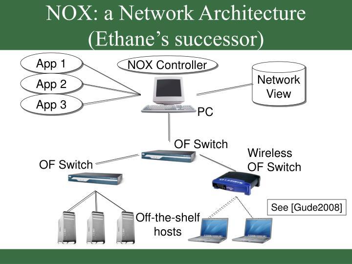 NOX: a Network Architecture