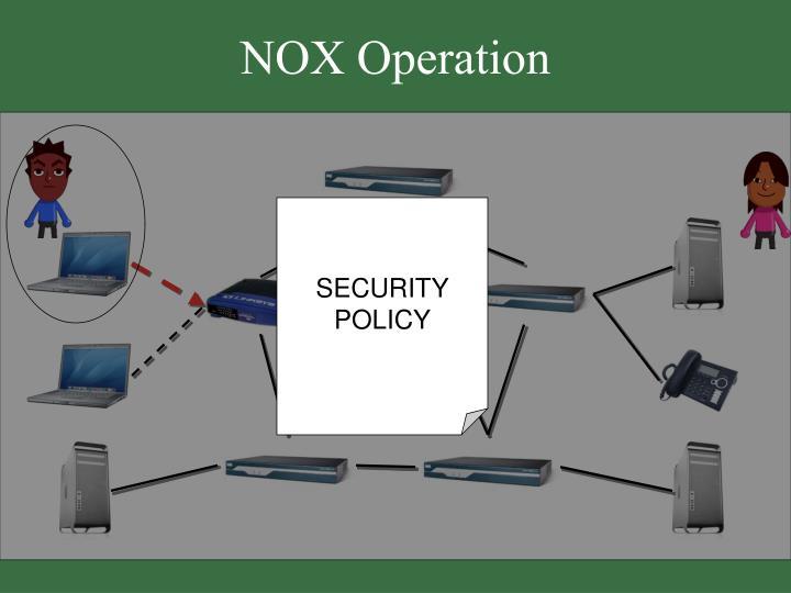 NOX Operation