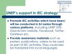 unep s support in iec strategy1