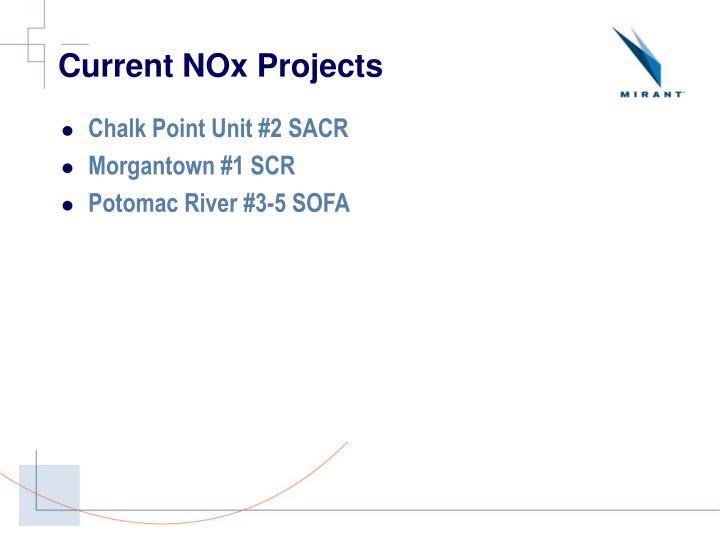 Current NOx Projects