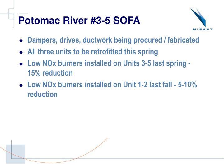 Potomac River #3-5 SOFA