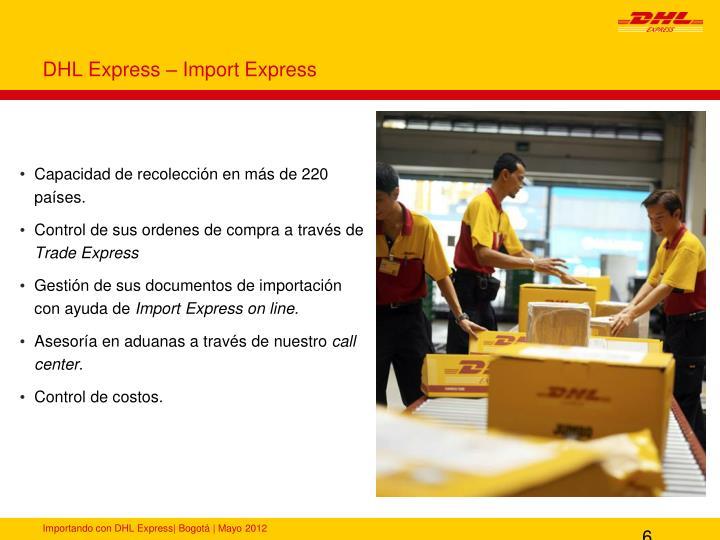 DHL Express – Import Express