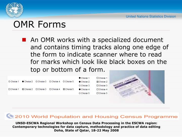 OMR Forms