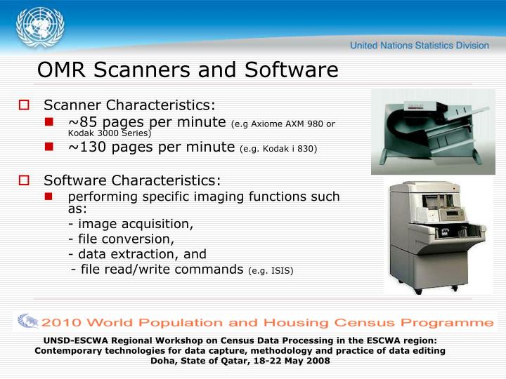 OMR Scanners and Software
