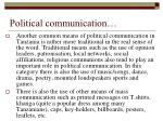 political communication1