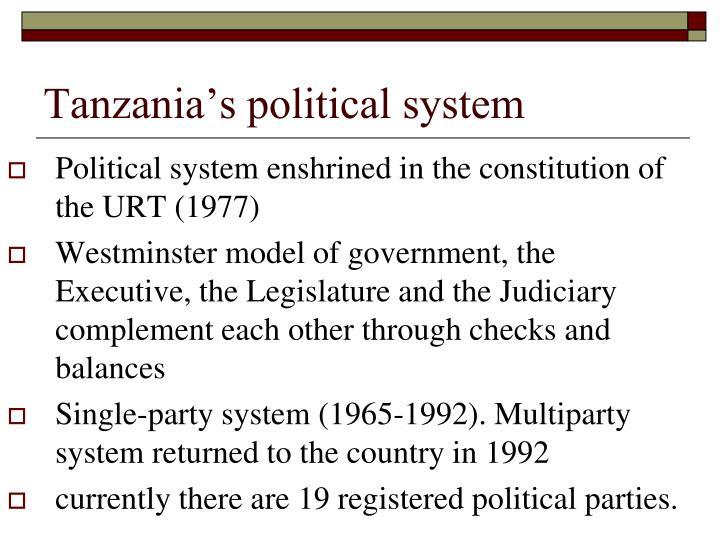 Tanzania's political system