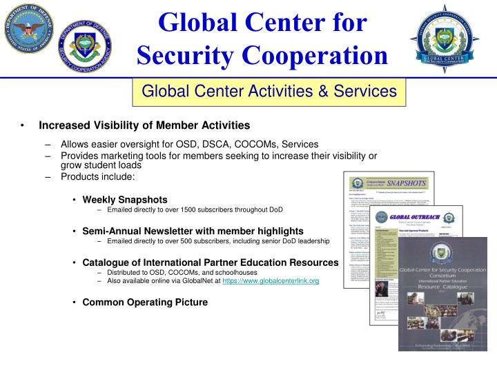 Increased Visibility of Member Activities