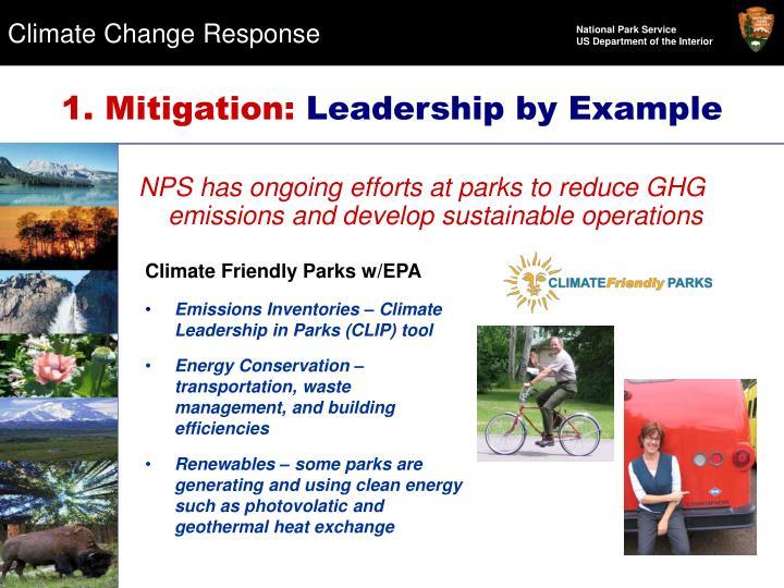 1. Mitigation: