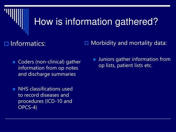 Informatics: