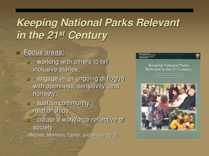 Keeping National Parks Relevant in the 21