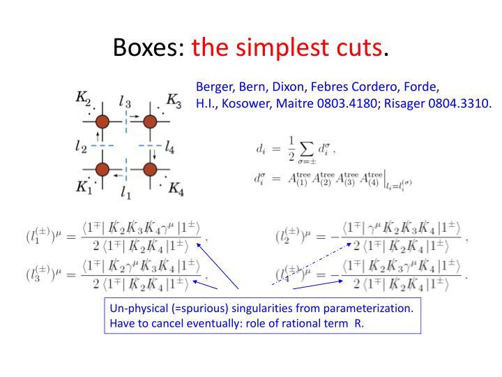 Boxes: