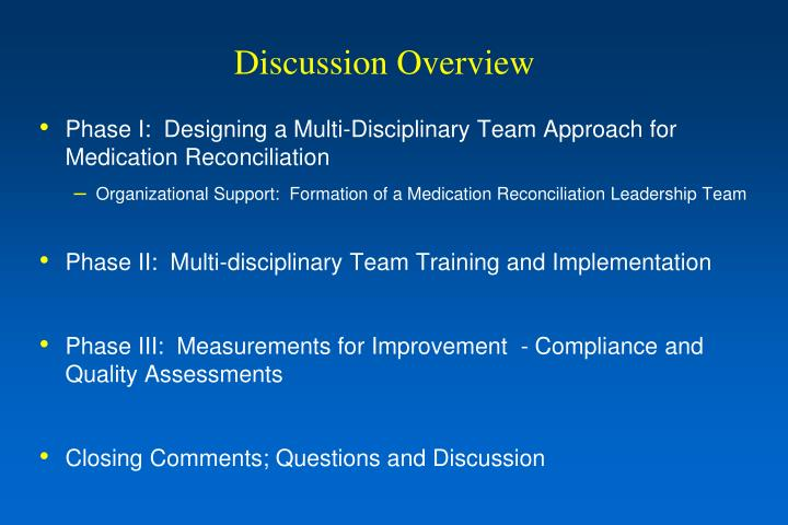 Discussion Overview