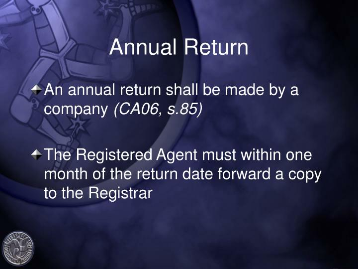 Annual Return