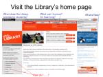 visit the library s home page