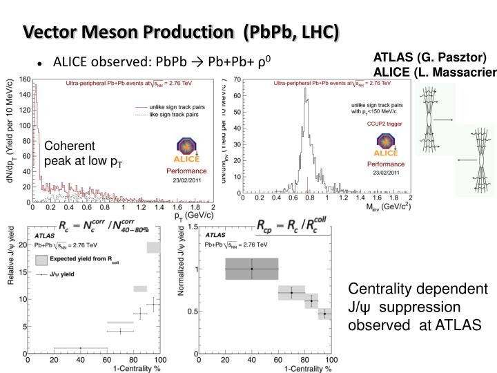 Vector Meson Production