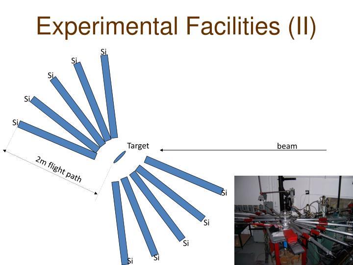 Experimental Facilities (II)