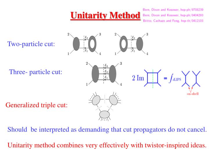 Unitarity Method