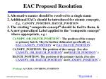 eac proposed resolution
