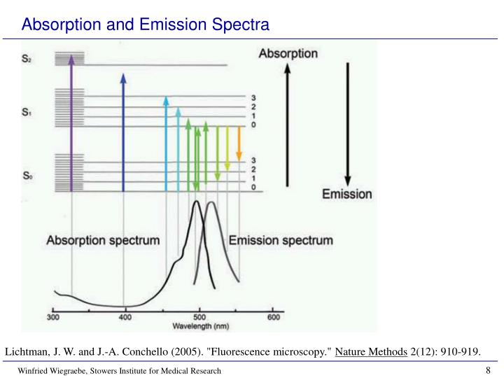 Absorption and Emission Spectra