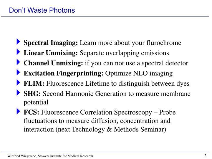 Spectral Imaging: