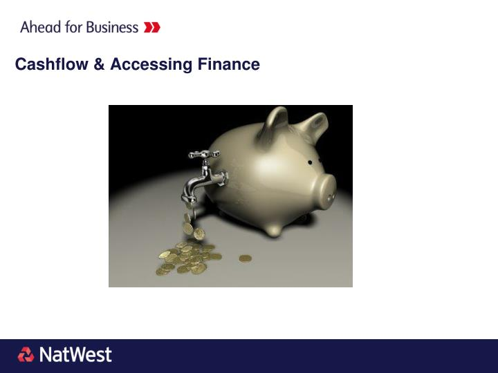 Cashflow & Accessing Finance