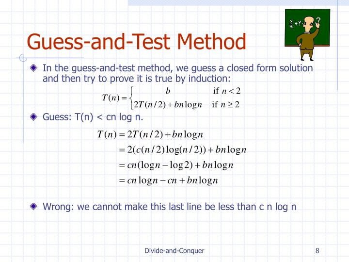 Guess-and-Test Method