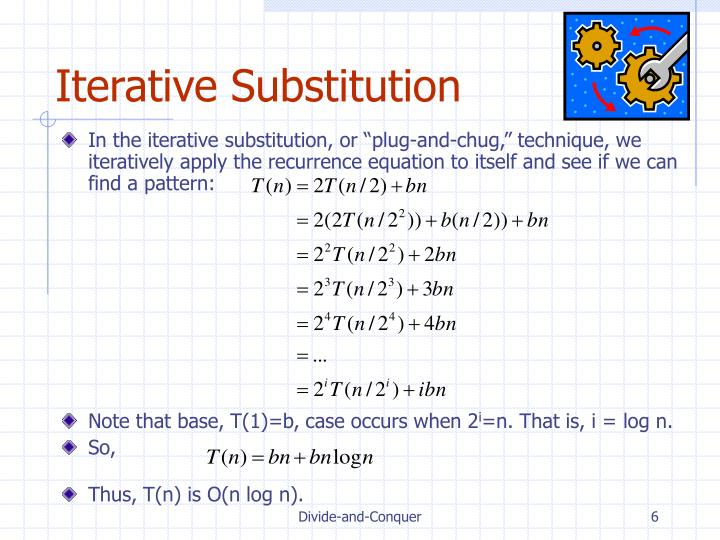 Iterative Substitution