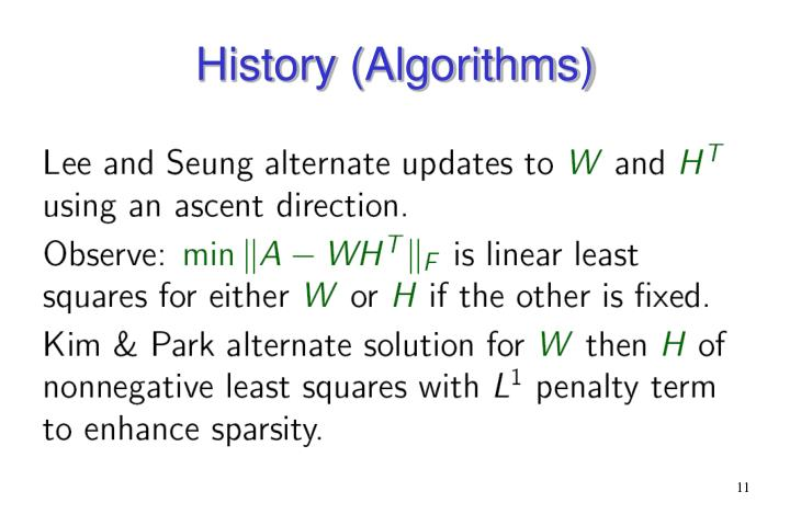 History (Algorithms)