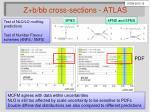 z b bb cross sections atlas1