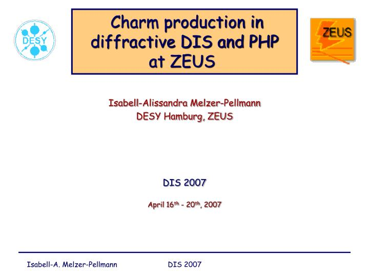 Charm production in diffractive DIS and PHP
