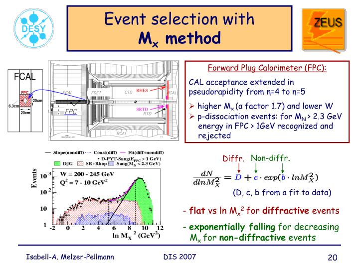 Event selection with