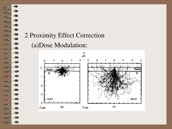 2 Proximity Effect Correction