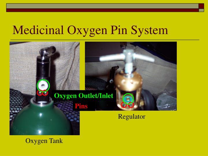 Medicinal Oxygen Pin System