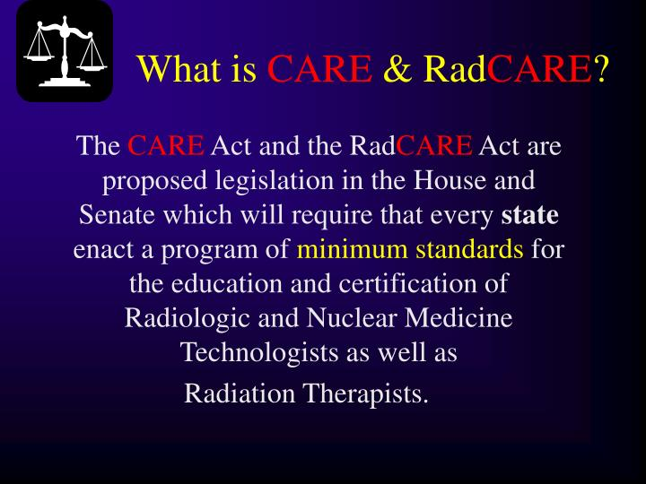 What is care rad care