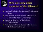 who are some other members of the alliance