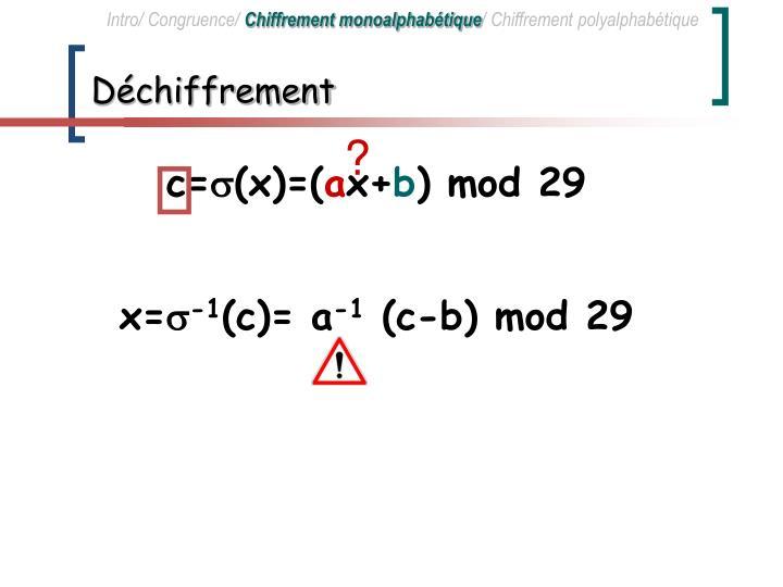 Intro/ Congruence/